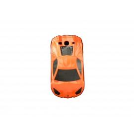 Coque pour Samsung I9300 Galaxy S3 voiture orange + film protection écran offert