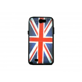 Coque pour Samsung Galaxy Note 2 - N7100  drapeau Angleterrre/ UK + film protection écran offert