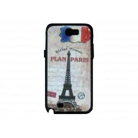 Coque pour Samsung Galaxy Note 2 - N7100 France Tour Eiffel+ film protection écran offert