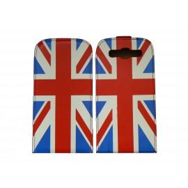 Pochette pour Samsung I9300 Galaxy S3 simili-cuir drapeau UK/Angleterre + film protectin écran