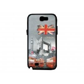 Coque pour Samsung Galaxy Note 2 - N7100 drapeau Angleterre/UK Tower Bridge + film protection écran offert