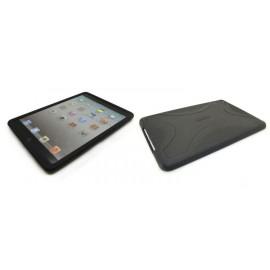 Coque silicone pour Ipad Mini noire + film protection écran offert