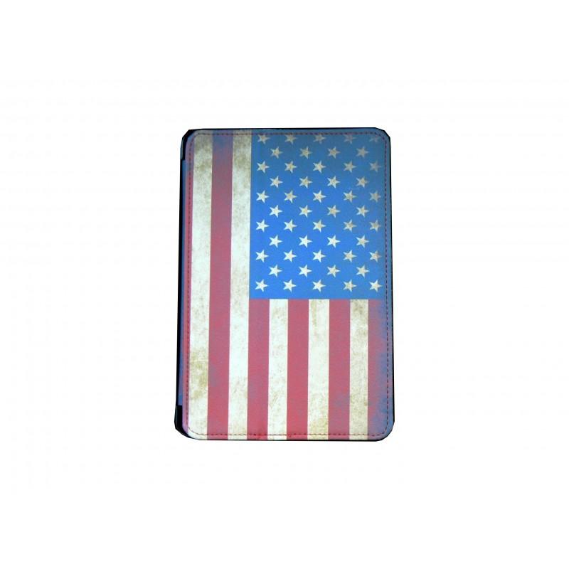 pochette ipad mini drapeau usa etats unis vintage. Black Bedroom Furniture Sets. Home Design Ideas