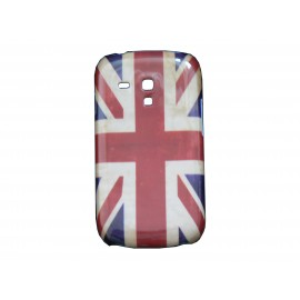 Coque pour Samsung Galaxy S3 Mini/ I8190 UK/Angleterre vintage+ film protection écran offert
