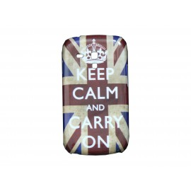 "Coque pour Samsung Galaxy S3 Mini/ I8190 UK/Angleterre ""Keep Calm""+ film protection écran offert"