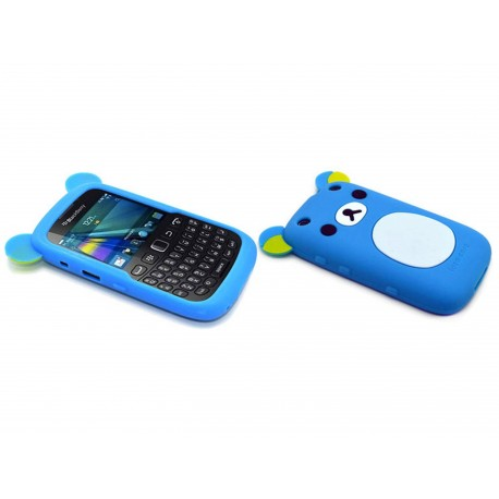 Coque pour blackberry curve 9320 silicone koala bleu for Housse blackberry curve