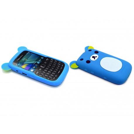 Coque pour blackberry curve 9320 silicone koala bleu for Housse pour blackberry curve