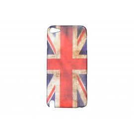 Coque pour Ipod Touch 5 drapeau UK/Angleterre + film protection écran