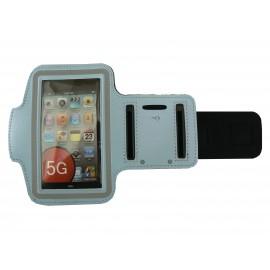 Brassard bleu ciel pour Iphone 5 - Ipod Touch 5 pourtour phosphorescent