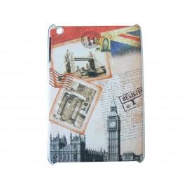 Coque pour Ipad Mini drapeau Angleterre - carte postale + film protection écran offert