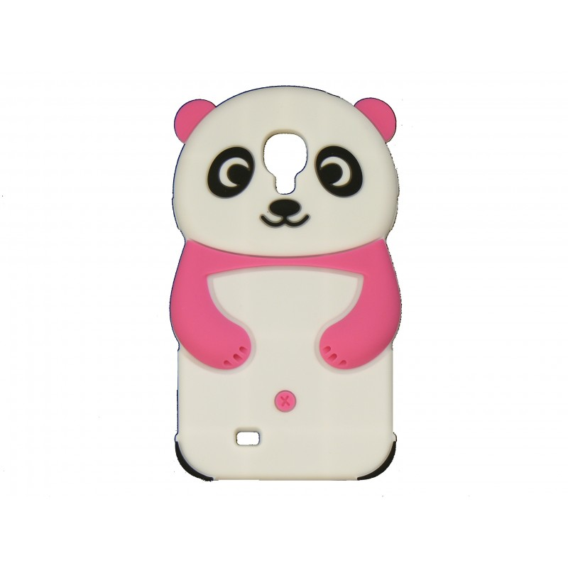 coque silicone pour samsung galaxy s4 i9500 panda blanc. Black Bedroom Furniture Sets. Home Design Ideas