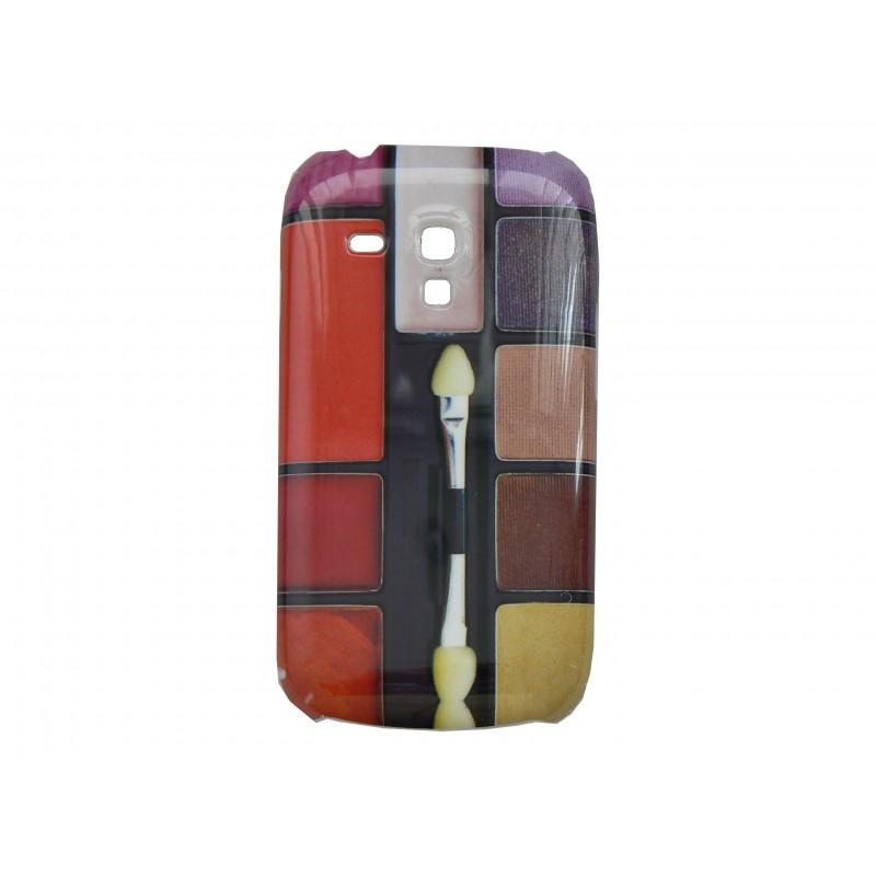 coque pour samsung galaxy s3 mini i8190 palette maquillage. Black Bedroom Furniture Sets. Home Design Ideas