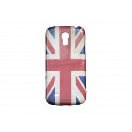 Coque pour Samsung Galaxy S4 Mini / I9190 drapeau UK vintage + film protection écran offert