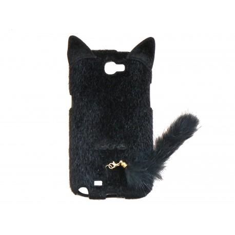 coque samsung a20e chat noir