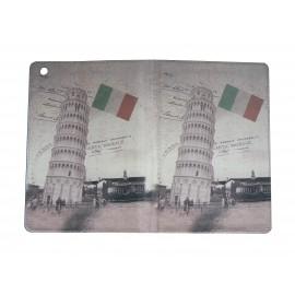 Pochette Ipad mini drapeau Italie Tour de Pise+ film protection écran