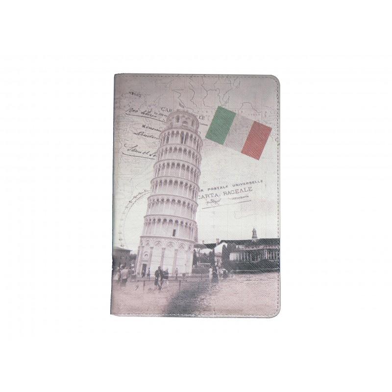 pochette ipad mini drapeau italie tour de pise. Black Bedroom Furniture Sets. Home Design Ideas