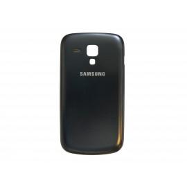 Coque cache batterie d'origine Samsung Galaxy Trend S7560 bleu nuit + film protection écran offert