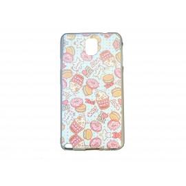 Coque TPU pour Samsung Galaxy Note 3/N9000 pop corn  + film protection écran offert
