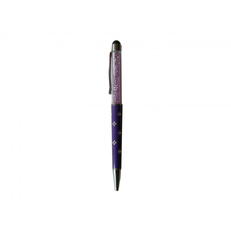 stylet stylo violet diam 39 s pour cran tactile. Black Bedroom Furniture Sets. Home Design Ideas