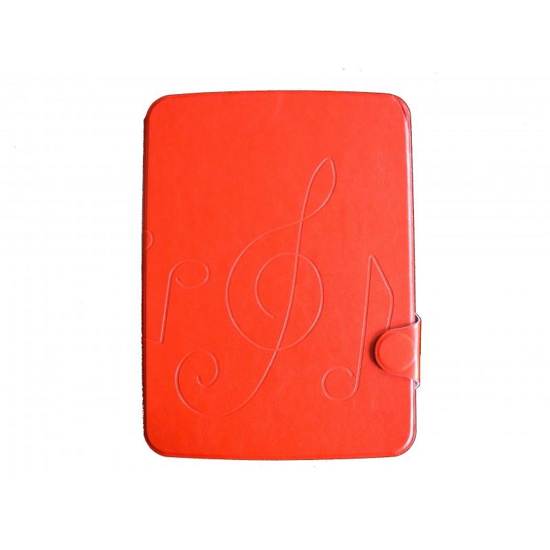 Pochette pour samsung tab 3 10 1 p5200 simili cuir rouge - Pochette pour tablette samsung ...