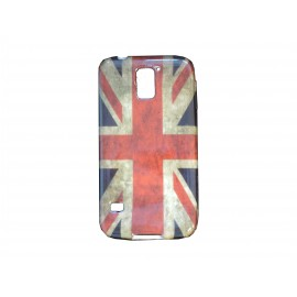 Coque TPU Samsung Galaxy S5 G900 UK/Angleterre vintage + film protection écran offert