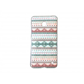 Coque TPU pour Nokia Lumia 630 maya rose + film protection écran offert
