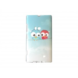 Coque TPU pour Nokia Lumia 920 oiseaux + film protection écran offert