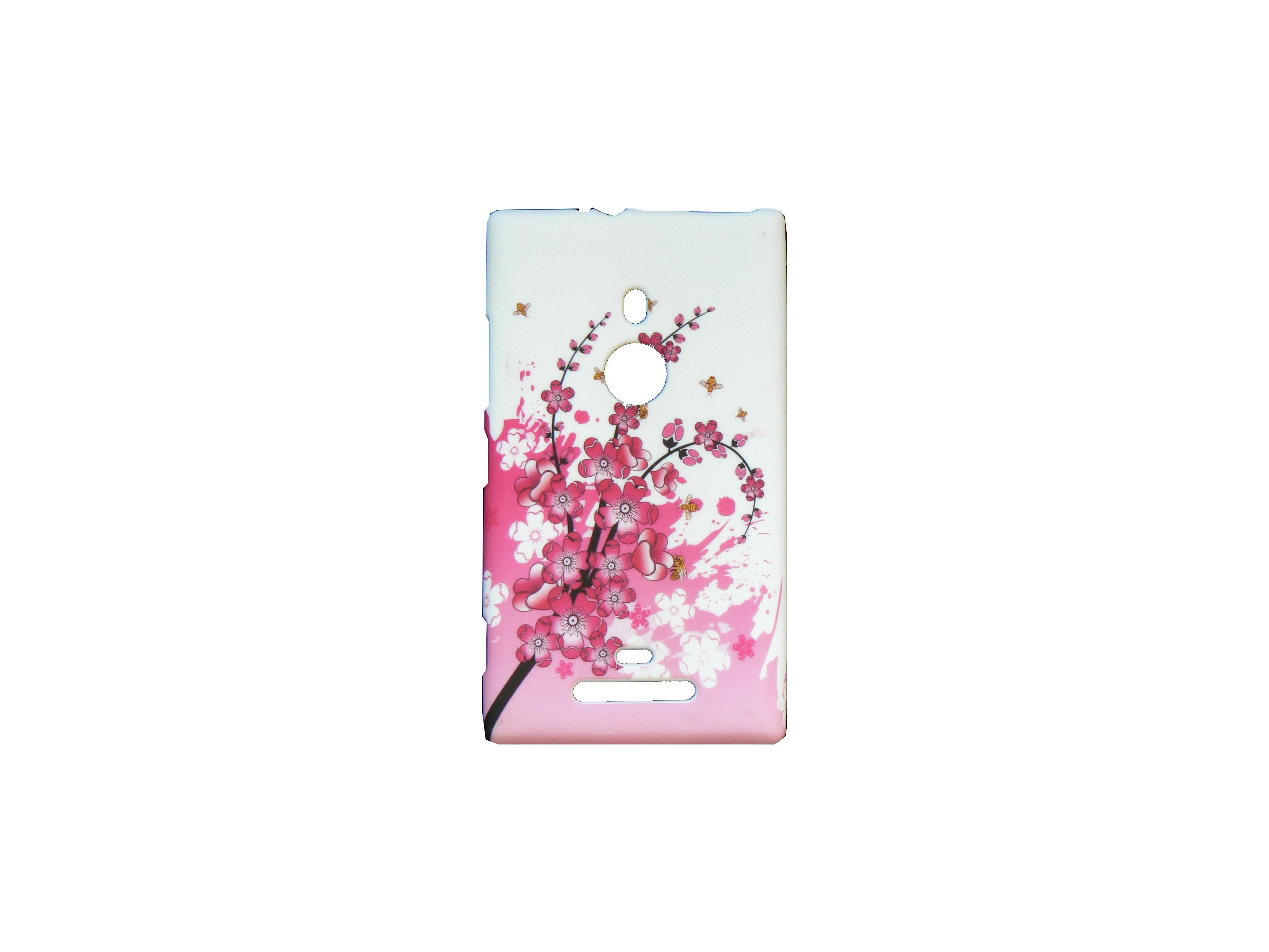 coque pour nokia lumia 925 petites fleurs roses