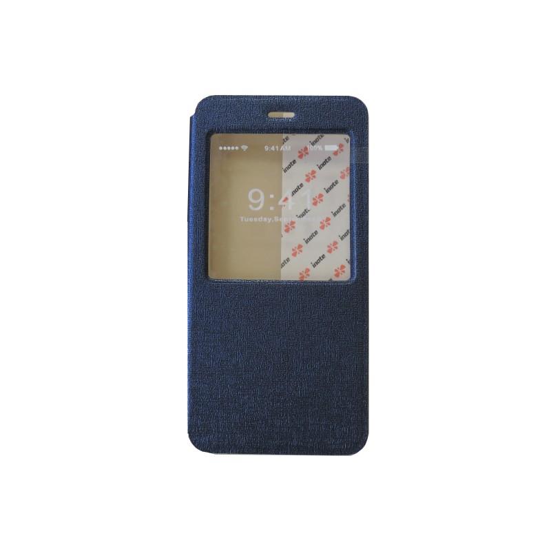Pochette pour iphone 6 plus simili cuir bleu nuit fen tre for Mac fenetre hors ecran