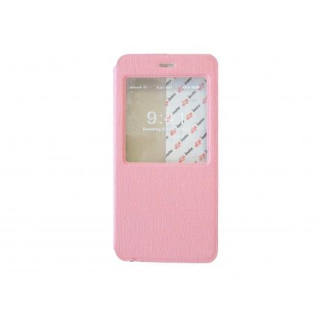 Pochette pour iphone 6 plus simili cuir rose clair fen tre for Mac fenetre hors ecran