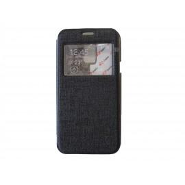 Pochette Inote pour Samsung Galaxy S5 Mini G800 noire+ film protection écran