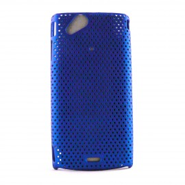 Coque rigide et mate pour Sony Ericsson  X12 Arc microperforee + film protection ecran offert
