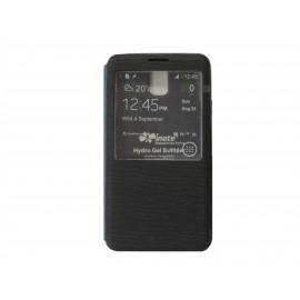 Pochette Inote pour Samsung Galaxy Note 3 N9000 noire + film verre trempé Incassable