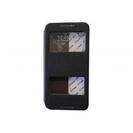 Pochette Inote pour HTC Desire 816 noire + film protection écran