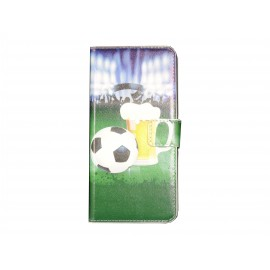 Pochette pour Wiko Highway football + film protection écran