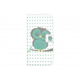 Pochette pour Wiko Barry Tour Eiffel + film protection écran