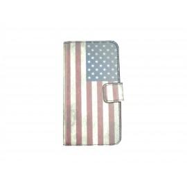 Pochette pour Samsung Galaxy Core Plus G350 USA/Etats-Unis + film protection écran offert