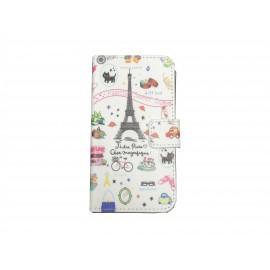 Pochette pour Samsung Galaxy Core Plus G350 Tour Eiffel Paris + film protection écran offert