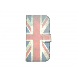 Pochette pour Samsung Galaxy Trend Lite S7390 Angleterre/UK+ film protection écran