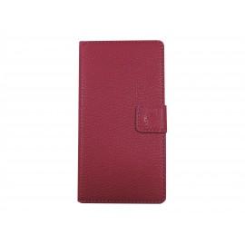 Pochette pour Sony Xperia M2 rose + film protection écran offert
