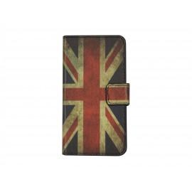 Pochette simili-cuir pour Nokia Lumia 630 UK/Angleterre+ film protection écran