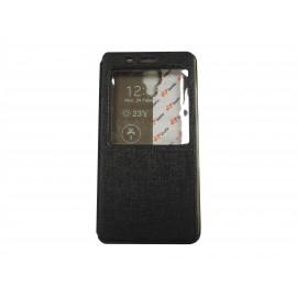 Pochette Inote pour Xiomi MI4 noire+ film protection écran