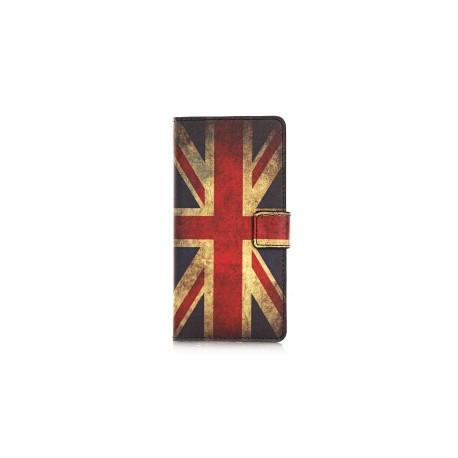 Pochette pour Wiko Rainbow UK/Angleterre vintage+ film protection écran