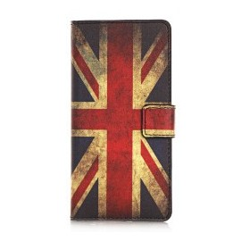 Pochette pour Samsung Galaxy S6 UK/Angleterre + film protection écran