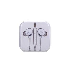 Ecouteur kit piéton blanc pour Iphone Samsung Nokia