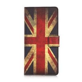Pochette pour Samsung Galaxy S6 Edge UK/Angleterre + film protection écran
