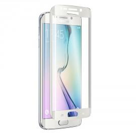 Film verre trempé Samsung Galaxy S6 incurvé blanc