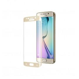 Film verre trempé Samsung Galaxy S6 Edge incurvé blanc
