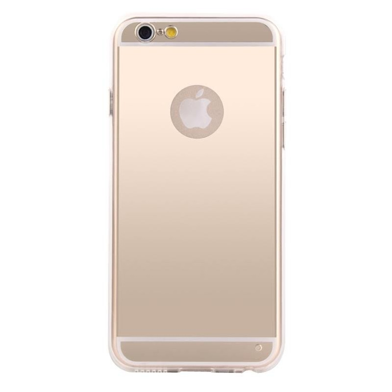 Coque iphone 6 plus tpu or miroir for Coque iphone 6 miroir