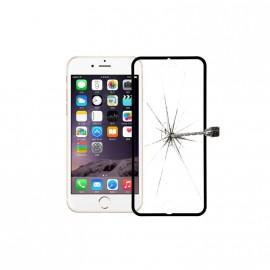 Film verre trempé Iphone 6/6S intégrale blanc